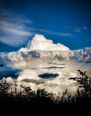 Cloud Formation Art Print by Michel Filion