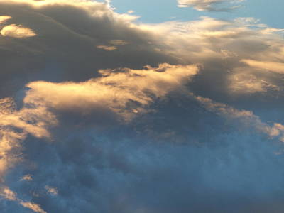 Photograph - Cloud Formation One by Krystyna Spink