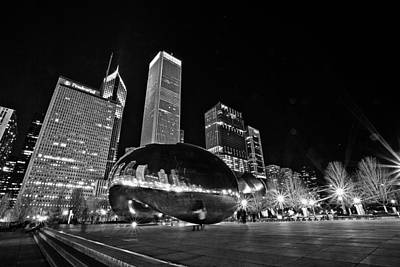 Cj Schmit Royalty-Free and Rights-Managed Images - Cloud Gate by CJ Schmit