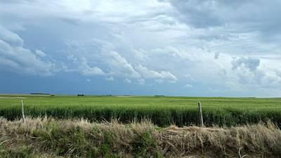 Photograph - Cloud Gathering by Sylvia Thornton