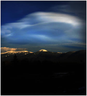 Photograph - Cloud Illusions by Wayne King