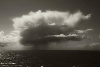 Photograph - Cloud In Sepia by Katie Wing Vigil