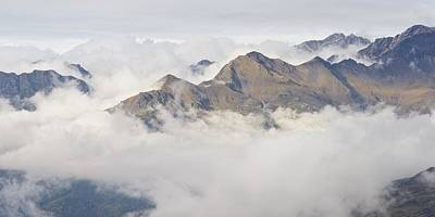Photograph - Cloud Inversion In The Pyrenees by Stephen Taylor