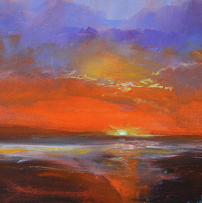 Painting - Cloud Light by Nancy Merkle