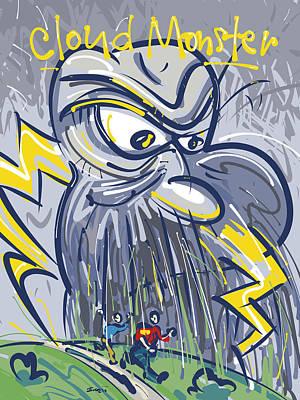 Cloud Monster Original by Brett LaGue