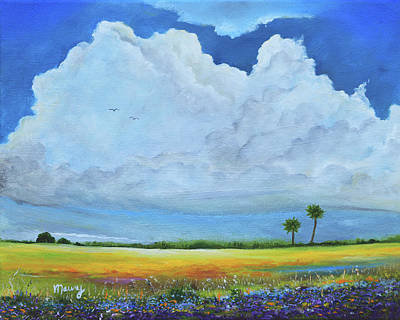 Painting - Cloud Near The Garden by Alicia Maury