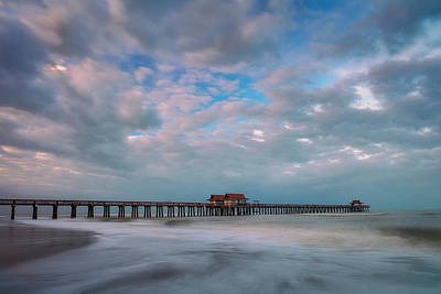 Naples Beach Wall Art - Photograph - Cloud Nine by Mike Lang