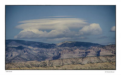 Art Print featuring the photograph Cloud On Route 6 by R Thomas Berner