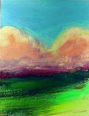 Painting - Cloud Oranges by Les Leffingwell