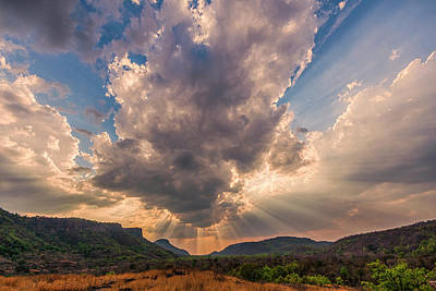 Photograph - Cloud Over Bandhavgarh 1 by Hitendra SINKAR