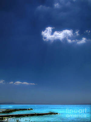 Photograph - Cloud Over The Pier by Silvia Ganora