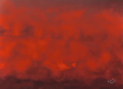 Cloud Patterns 2 Print by Leland D Howard