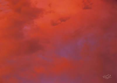 Cloud Patterns 4 Print by Leland D Howard