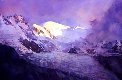 Painting - Cloud Peak  by Joseph Barani