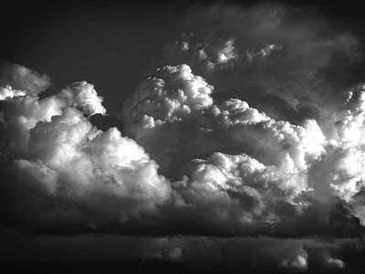 Clouds Photograph - Cloud Power Over The Lake by John Norman Stewart