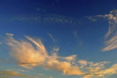 Photograph - Cloud Procession  by Lyle Crump