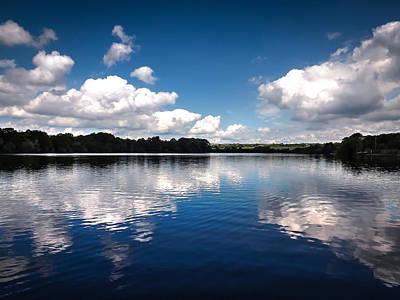 David Jones Photograph - Cloud Reflection by David Jones