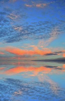 Digital Art - Cloud Reflection  by Lyle Crump