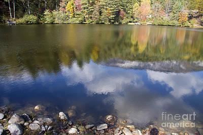 Photograph - Cloud Reflections by Jill Lang