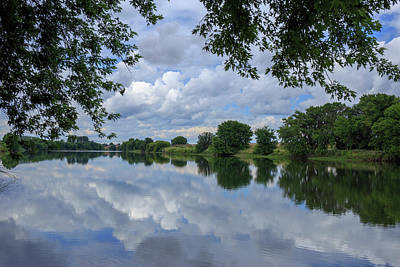 Photograph - Cloud Reflections by Lynn Hopwood
