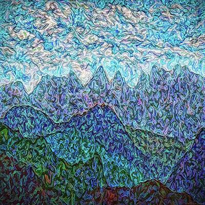 Digital Art - Cloud Rhythms by Joel Bruce Wallach