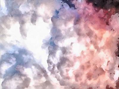 Photograph - Cloud Sculpting 3 by Dorothy Berry-Lound