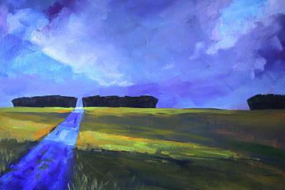 Painting - Cloud Shadows by Nancy Merkle