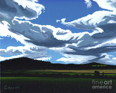 Painting - Cloud Shadows by Robert Coppen