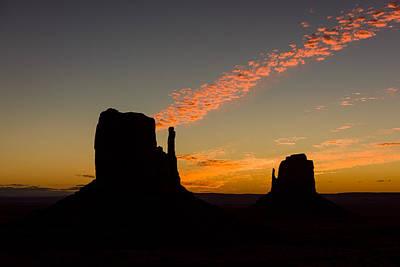 Photograph - Cloud Shaft by Michael Blanchette