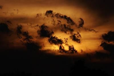 Photograph - Cloud Silhouette by Karen Silvestri