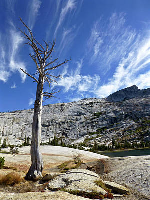 Photograph - Cloud Stretch Lower Cathedral Lake by Amelia Racca