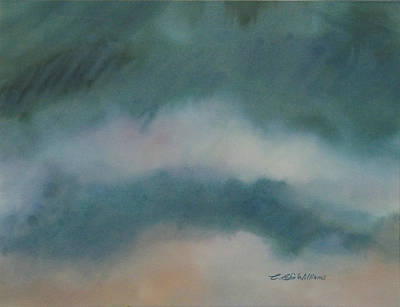 Painting - Cloud Study 1 by E Colin Williams ARCA