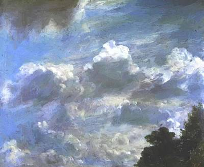 Painting - Cloud Study 1821 by Constable John