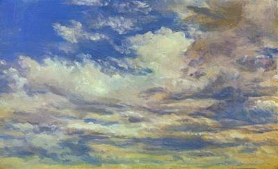 Painting - Cloud Study 1822 by Constable John
