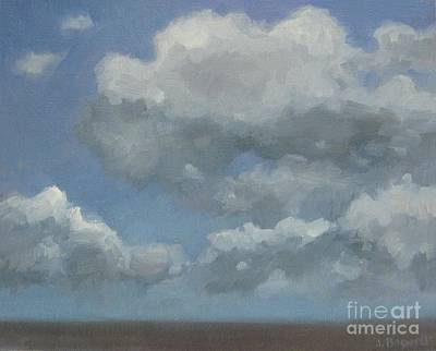 Painting - Cloud Study Series Three by Jennifer Boswell