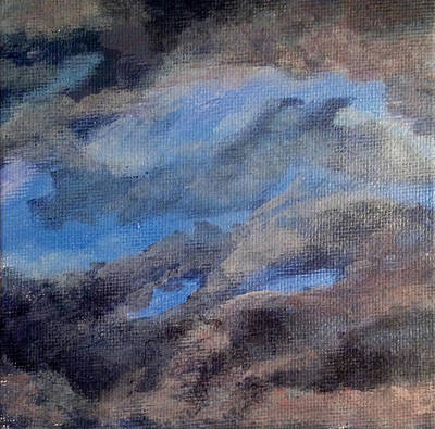 Wall Art - Painting - Cloud Study #3 by Jessica Tookey