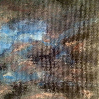 Wall Art - Painting - Cloud Study #4 by Jessica Tookey