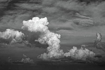 Photograph - cloud study No.1 by Tom Druin