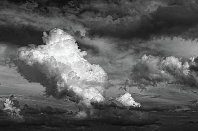 Photograph - cloud study No.2 by Tom Druin