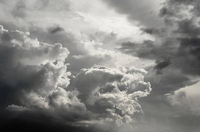 Photograph - cloud study No.4 by Tom Druin