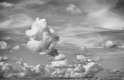 Cloud Study Art Print by Tom Druin