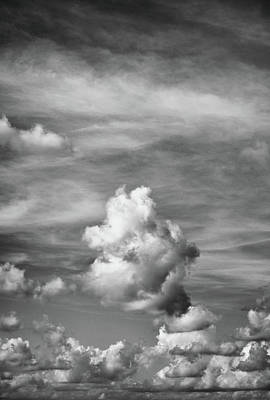 Photograph - Cloud Study ...vertical by Tom Druin