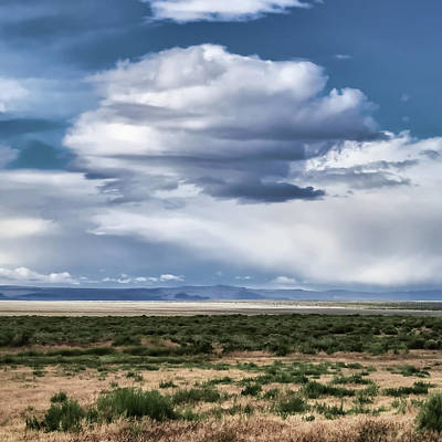 Photograph - Cloud Traveling Over Open Ground by Jay Blackburn