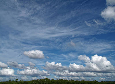 Photograph - Cloud Variety by Sally Weigand