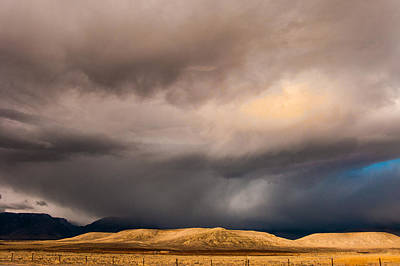 Photograph - Cloudburst by Elaine Goss