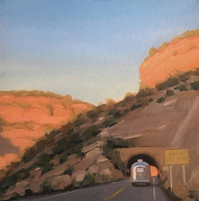 Painting - Cloudcroft Tunnel by Elizabeth Jose