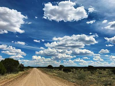 Photograph - Clouddom Road by Brad Hodges