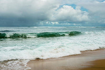 Photograph - Clouded Beach by Robert Potts
