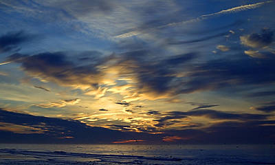 Photograph - Clouded Sunrise by  Newwwman