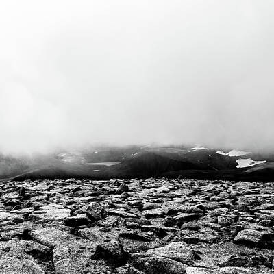 Photograph - Clouded View Of The Cairngorms by Hakon Soreide